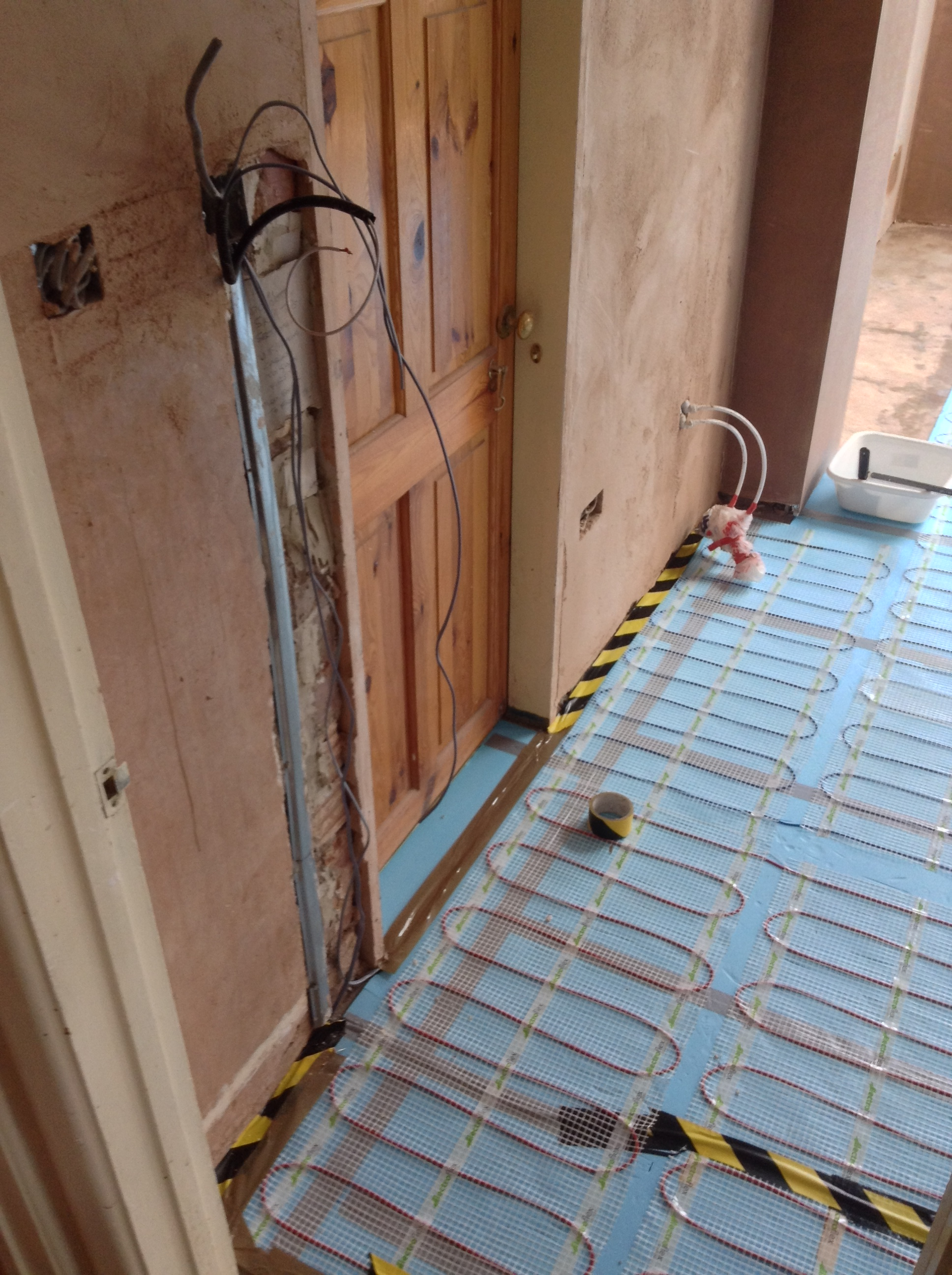 Wiring Electric Underfloor Heating Radio Wiring Diagram - Under floorboard heating