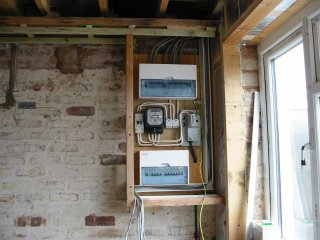 Fuse boards in Rugeley